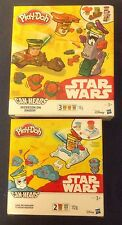 Star Wars Play Doh Can Heads Mission On Endor And Luke Skywalker & Snowtrooper