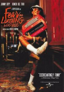 Fear and Loathing in Las Vegas Movie POSTER 27 x 40 Johnny Depp, B