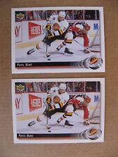 1992-93 Upper Deck - Pavel Bure - Vancouver Canucks - 156
