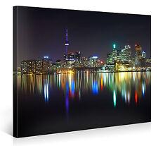 TORONTO CITY PANORAMA 100x75cm HD Kanada Städte Bilder Leinwanddruck #e4710