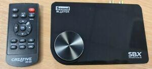 4578 Creative X-Fi SB1095 Surround 5.1 Pro v3 Sound Blaster USB Sound Card