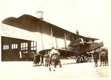 WWI MILITARY - U.S. AIR SERVICE original 10 x 8 photo - HANDLEY PAGE BOMBER 1918