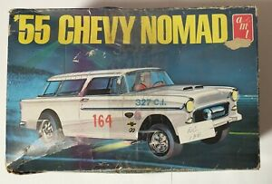 AMT '55 Chevy Nomad 1:25 Scale Vintage Model Kit T289 *READ* - SHIPS FAST!
