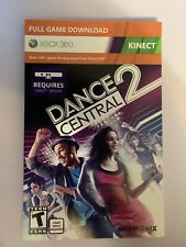 Dance Central 2 (Microsoft Xbox 360, 2011) Video Game NEW  Kinect Download Card