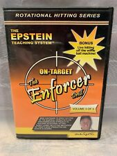 The Epstein Teaching Système Otarget Enforcer Perceuse Vol 3 Of 3 Hitting DVD
