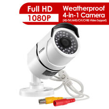 ZOSI  4 IN 1  2.0MP HDMI 1080P Night Vision 100ft CCTV Security Outdoor Camera