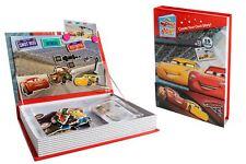 Disney Pixar Cars Interactive Magnet Story Card Imagination Playset w Carry Case
