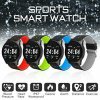 Smart Watch Bracelet Wristband Blood Pressure Heart Rate Monitor for iOS Android