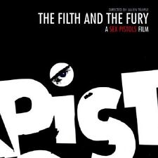 The Filth & The Fury Soundtrack 2-CD NEW Sex Pistols/Alice Cooper/David Bowie+