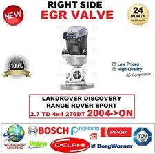 FOR LANDROVER DISCOVERY RANGE ROVER SPORT 2.7 TD 4x4 2004-> EGR VALVE RIGHT SIDE