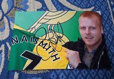 Signiertes Foto Steven Naismith Norwich City NEU