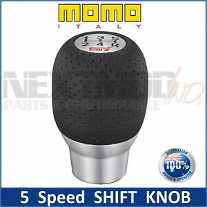 MOMO Shift Knob For Subaru STI 5MT 5AT WRX Impreza Liberty Forester GT GC8 Gear.