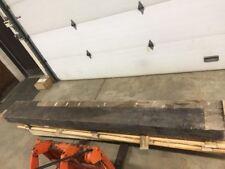 Huge 10' Reclaimed Rustic Style Solid Cedar Fireplace Mantel Shelf Wood Beam Log