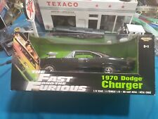 ERTL AMERICAN MUSCLE THE FAST AND THE FURIOUS 1970 DODGE CHARGER 1/18 SCALE MIB