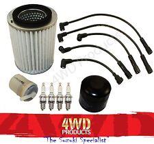 Filter/Lead/Spark Plug kit - Sierra SJ410 (81-86) Maruti MG410 (90-99) 1.0 F10A