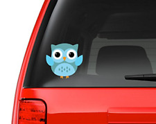 """Cute Little Owl #8 Full Color - 5"""" Vinyl Decal for Car, Macbook, or Other Laptop"""