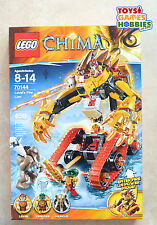 *NEW* LEGO Legends of Chima Laval's Fire Lion 70144 Mungus Cragger Mammoth Chi