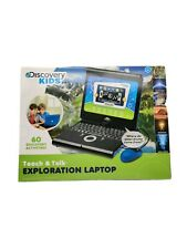 Discovery Kids Teach And Talk Exploration Laptop- NEW OPEN BOX