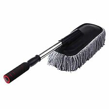 Automaze Car Cleaning Duster Tool Large Microfibre Telescoping Flexible Duster
