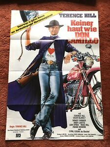 Keiner haut wie Don Camillo Kinoplakat Poster A1, Terence Hill
