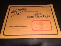 White Ace Stamp Album Supplement Pages  - Canada Regular Issues 1988 CR-17