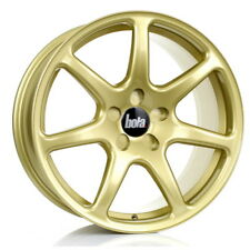 18 inch BOLA B7 5x108 ET25 TO 45 8.5J GOLD alloy wheels  Citroen C4 Citroen C4 P