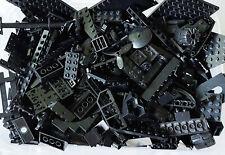 LEGO® 50 Schwarze Teile gemischt viele Sonderteile Konvolut zb Star Wars City #2