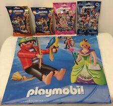 Playmobil,4 packs of figures.Series 1 and 16. Brand New sealed. See discription