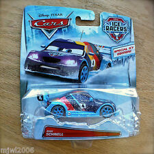 Disney PIXAR Cars ICE RACERS MAX SCHNELL #4 diecast SPECIAL ICY EDITION! Moscow