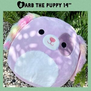 """Barb The Dog Squishmallow 14"""" Puppy Dog Target Squishmallows Barb"""