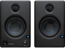 PreSonus Eris E4.5 Active Studio Monitors X2 Powered Speakers ISO Pads & Leads