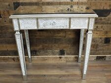 MIRRORED MOSAIC STYLE DRESSING/SIDE TABLE