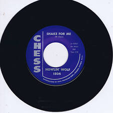 HOWLIN' WOLF - SHAKE FOR ME / THE RED ROOSTER (Great 60s BLUES Dancer & classic)