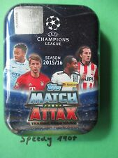 Topps Champions League 15 16 Limited Edition Pocket Tin Mini 20 Base Card Müller