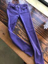 Joes jeans skinny Visionarie pants Jean purple sz 26