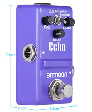 Ammoon Series Guitar Effect Pedal Delay Effects Guitar Pedal - UK Supplier
