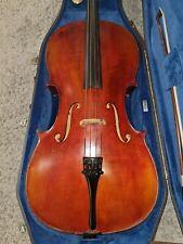 Professionelles Konzert Cello aus Musikernachlass Etikett. Eugen Wahl anno 1959