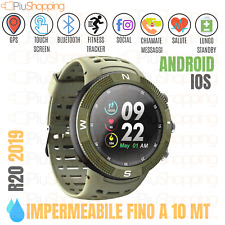 R20 SMARTWATCH OROLOGIO SPORTIVO GPS IOS ANDROID BLUETOOTH IMPERMEABILE IP68