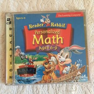 The Learning Company Reader Rabbit's Personalized Math Ages 6-9 for PC Win95 Mac