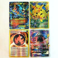 100 PCS Pokemon Flash Lot Rare High Combat HP Energy EX+GX+Mega Cards US