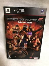 PS3 DEAD OR ALIVE 5 Collector's Edition Japan Authentic