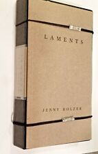 JENNY HOLZER: LAMENTS Book, VHS & Orig. Closures + Bonus DIA ART FOUNDATION