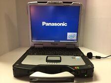 Panasonic Toughbook CF-30  1.66 Ghz  4GB 320GB  Illuminated  Keyboard Touchcreen