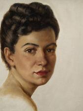 Max PISTORIUS (1894-1960) Frauenbildnis 1946.