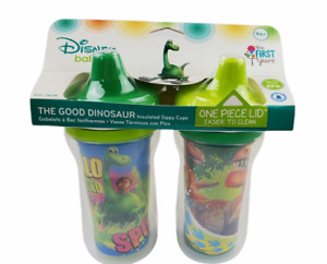 The First Years Disney The Good Dinosaur Insulated Sippy Cup 9 Oz 2 pack