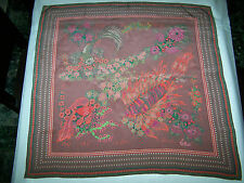 "FOULARD ""BELLOTTI"" VINTAGE 90 SILK SCARF 100% MADE IN ITALY"