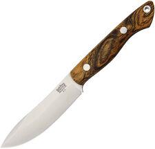 "Bark River Mini Kalahari Bocote Wood Knife 12-012WB 7 5/8"" overall. 3 5/8"" A-2 t"