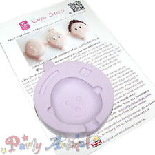 Karen Davies LARGE Face/Head Mould - High Quality Flexible Silicone Moulds