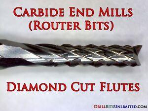 "Router Bit 1.20mm .047"" Solid Carbide  : Shank: 1/8"" PCB CNC N"