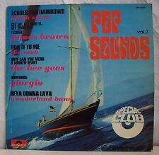 """33 tours POP SOUNDS Vol 3 Disque Vinyl LP 12"""" ECHOES RAINBOWS - POLYDOR 2484020"""